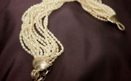 ANIMA - Bransoleta z drobnych pereł