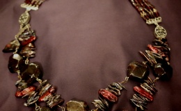 ANIMA - Garnet necklace