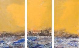 Lewińska Anna - Sea (triptych)