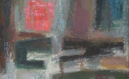 Pacanowska Felicja - Kompozycja abstrakcyjna
