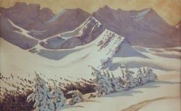 Szczerbiński Marian - Zakopane. Winter landscape