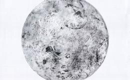 "Zielińska Anna - Cycle ""Cosmos"" - far side of the moon, 2013"