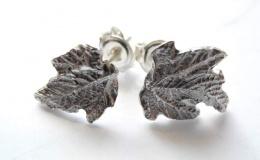 Tamborska Iwona - Leaves (earrings
