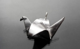 Tamborska Iwona - Origami Crane (pendant)