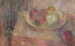 Pacanowska Felicja - Still life with apples II, 1942