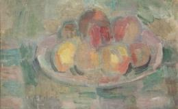 Pacanowska Felicja - Still life with apples I, 1942