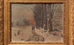 Soldinger Antoni - Winter landscape