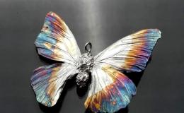 Tamborska Iwona - Motyl (zawieszka)